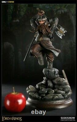 Sideshow Exclusive LOTR GIMLI Lord Of The Rings Figure Statue MIB Only 500 Made