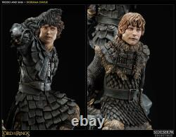Sideshow Frodo and Samwise Diorama Statue Lord of the Rings MIB