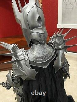 Sideshow LOTR Lord Rings SAURON PREMIUM FORMAT Statue! #0069/ 1500! L@@K