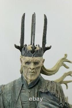 Sideshow LOTR Lord rings TWILIGHT WITCH KING Statue 715/ 1000 BOXED