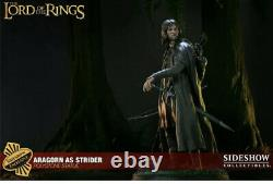 Sideshow Lord Of The Rings Aragorn As Strider Polystone Statue Exclusive Limited