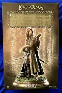 Sideshow Lord Of The Rings Aragorn As Strider Statue LOW NUMBER 35/1000 NEW
