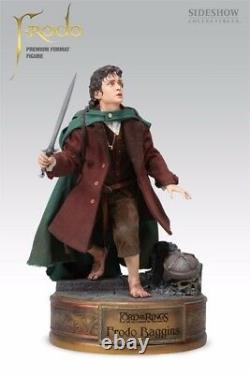 Sideshow Lord Of The Rings Sold Out Frodo Premium Format Statue Mib Never Opened