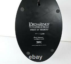 Sideshow WETA LOTR Lord of the Rings Mace of Sauron Tremont #515/3500 Statue
