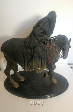 Sideshow WETA Lord Of The Rings Ringwraith & Steed Statue Original Boxes #1967