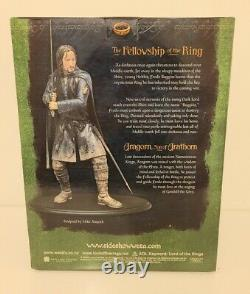 Sideshow WETA Lord of the Rings Aragron 1/6 Scale Polystone Statue