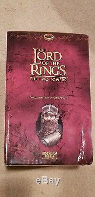 Sideshow Weta GIMLI SON OF GLOIN Statue Lord of the Rings LotR Hobbit Rare