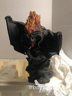 Sideshow Weta Lord Of The Rings BALROG FLAME OF UDON Polystone Statue