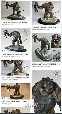 Sideshow Weta Lord Of The Rings Battle Troll Of Mordor Statue BNIB