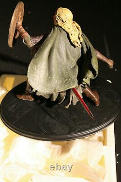 Sideshow Weta Lord Of The Rings Eowyn Shield Maiden Lotr Statue #0935/7500 Rare