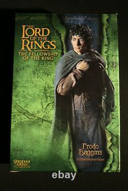 Sideshow Weta Lord Of The Rings Frodo Baggins Lotr Statue Rare Sold Out
