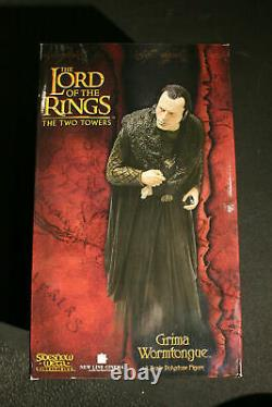 Sideshow Weta Lord Of The Rings Grima Wormtongue Statue Number 0013/2000