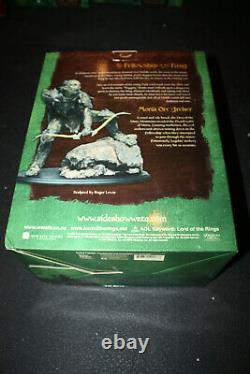 Sideshow Weta Lord Of The Rings Moria Orc Archer Statue Sold Out Limited Edition