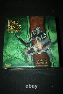 Sideshow Weta Lord Of The Rings Moria Orc Swordsman Statue Sold Out Limited Ed