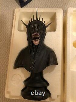 Sideshow Weta Lord Of The Rings Mouth Of Sauron Bust Figure Statue
