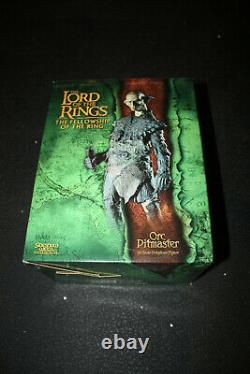 Sideshow Weta Lord Of The Rings Orc Pitmaster Statue Sold Out Limited Edition