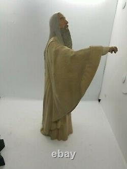 Sideshow Weta Lord Of The Rings Saruman The White Polystone Statue read DESCRIP