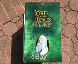 Sideshow Weta Lord Of The Rings Saruman The White Statue LOTR Christopher Lee