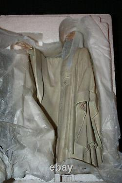 Sideshow Weta Lord Of The Rings Saruman The White Statue Limited Edition Lotr