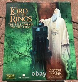 Sideshow Weta Lord Of The Rings Saruman the White Statue