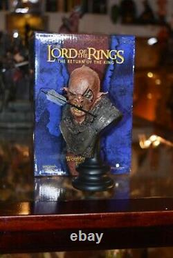 Sideshow Weta Lord Of The Rings The Hobbit Wounded Orc 1/4 Bust Statue Figure