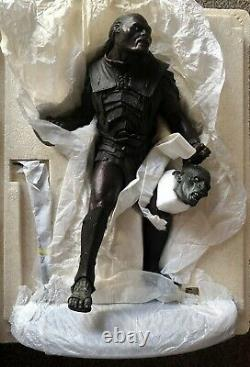 Sideshow Weta Lord Of The Rings Ugluk Uruk Hai Captain Statue, Mint Condition