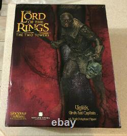 Sideshow Weta Lord Of The Rings Ugluk, Uruk-hai Captain Statue #1001/2000 NEW