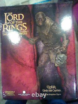 Sideshow Weta Lord Of The Rings Ugluk, Uruk-hai Captain Statue #769/2000 NEW
