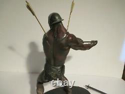 Sideshow Weta Lord Of The Rings Uruk-hai Berserker 1/6 Scale Polystone Statue