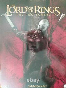 Sideshow Weta Lord Of The Rings Uruk-hai Berserker Statue #131/3000