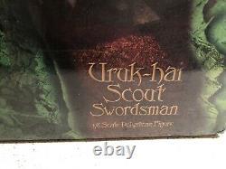 Sideshow Weta Lord Of The Rings Uruk-hai Scout Swordsman Statue Figure Bust