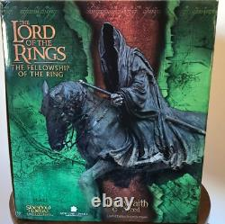 Sideshow Weta Lord Of The Rings Wringwraith & Steed Statue 3737/5000