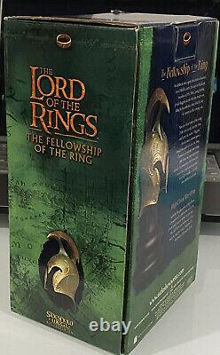 Sideshow Weta Lord of the Rings LOTR High Elven Warrior War Helm Statue Bust