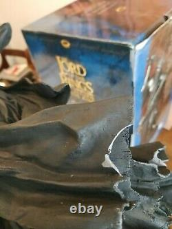 Sideshow Weta Lord of the Rings Morgul Lord Witch King Statue, tolkien
