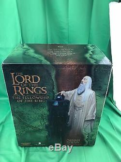 Sideshow Weta SARUMAN THE WHITE 1/6 scale Bust Polystone Statue Lord of the Ring
