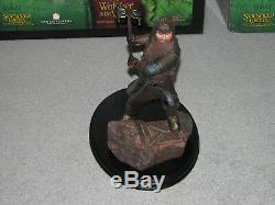 Sideshow Weta Statue Lord of the Rings / Hobbit Gimli Son of Gloin #906