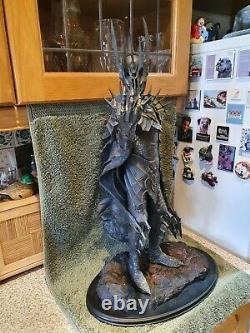 Sideshow Weta The Lord Of The Rings The Dark Lord Sauron Ltd Edition Statue