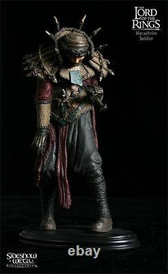 Sideshow Weta The Lord of the Rings Haradrim Soldier Polystone Statue Brand New