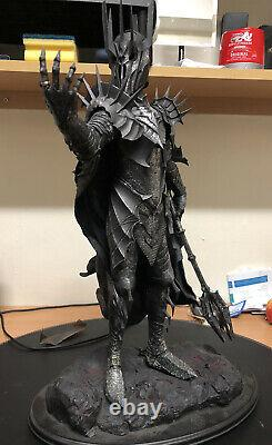 Sideshow Weta The Lord of thr Rings The Dark Lord Sauron Statue