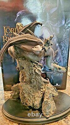 SideshowithWeta Lord Of The Rings Fell Beast & Morgul Lord Statue 567/3000 RARE