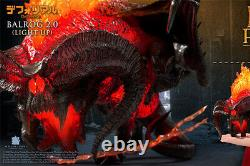 Star Ace Toys Defo The Lord of the Rings Balrog 2.0 Light Up Soft Vinyl Statue