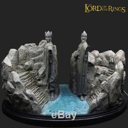 THE Lord of The Rings Hobbit Gates of Argonath Gate of Kings Statue 28 CM High