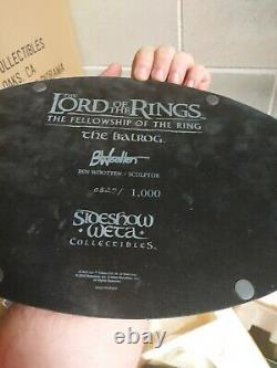 The Balrog Weta Sideshow Statue The Lord Of The Rings No Hobbit