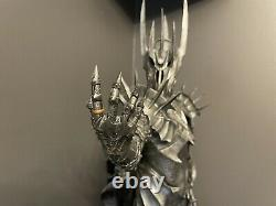 The Dark Lord Sauron Sideshow Collectible Statue Lord Of The Rings Repainted
