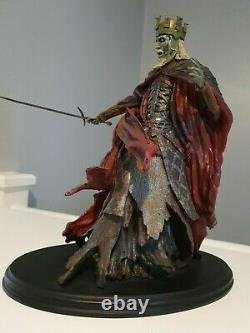 The Lord Of The Rings King of The Dead Statue 1/6 scale Sideshow Weta Statue