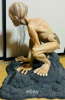The Lord of The Ring Gollum 1/1 Figure Statue Sideshow Size 51 cm
