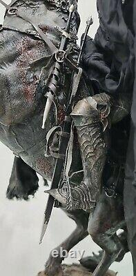 The Lord of The Rings Dark Rider of Mordor Premium Format Figure Statue Sideshow