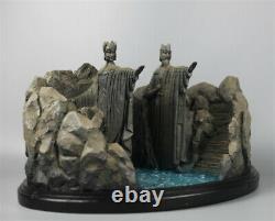 The Lord of the Rings Gates of Argonath Gates of Gondor Scene Model Statue 25cm