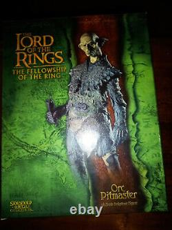 The Lord of the Rings Sideshow Weta Orc Pitmaster 16 Polystone Statue