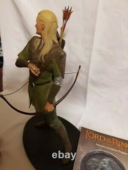 The Lord of the Rings The Fellowship of the Ring Legolas statue Sideshow Weta